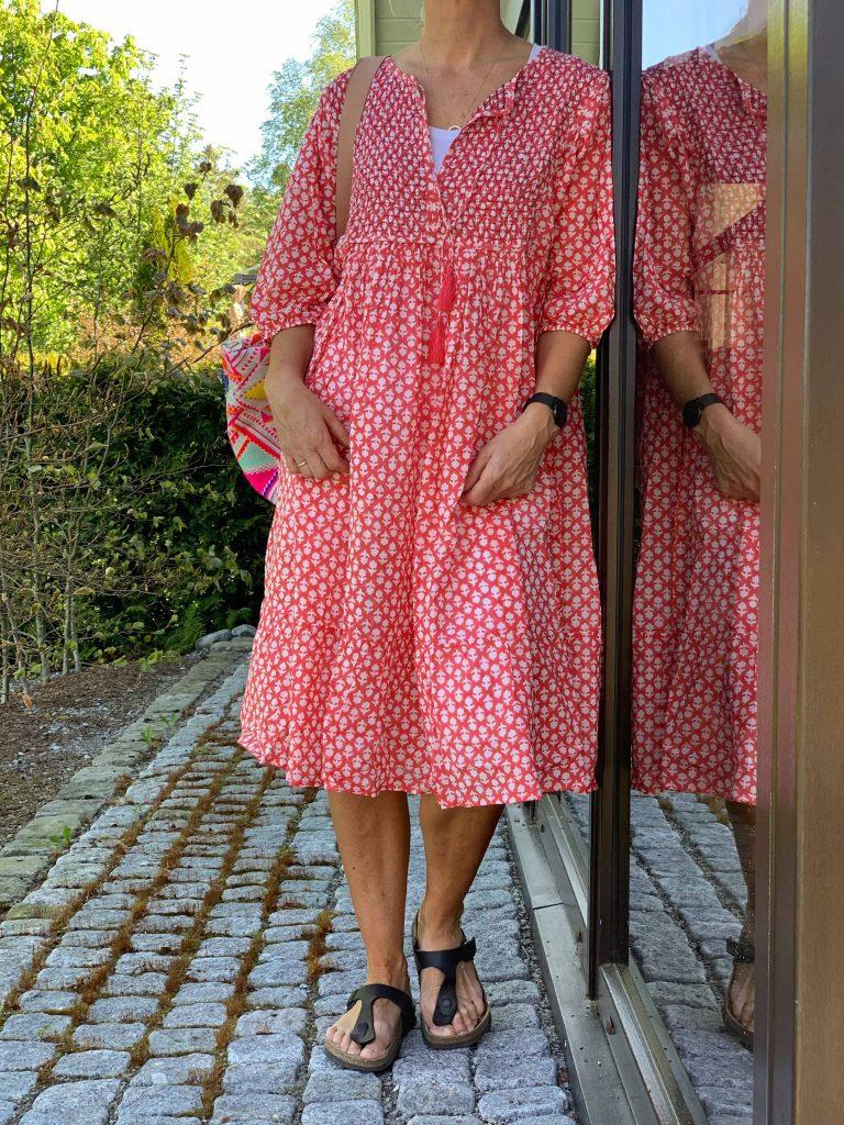 bf83d9f43371 Korfu kjole Anouska - Bryggerhuset på Jahren